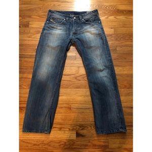 Diesel Larke Jeans in Regular Straight 32W 30L